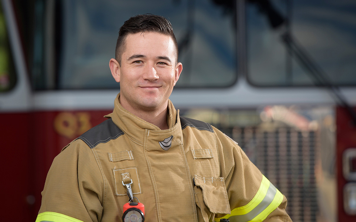 Steve Oishi arrived at the scene of a serious crash where the driver was pinned inside. Thanks to his JIBC firefighter training, he knew just what to do.