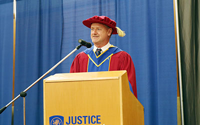 2018 Spring Convocation Michel Tarko