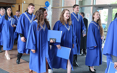 2018 Spring Convocation graduates