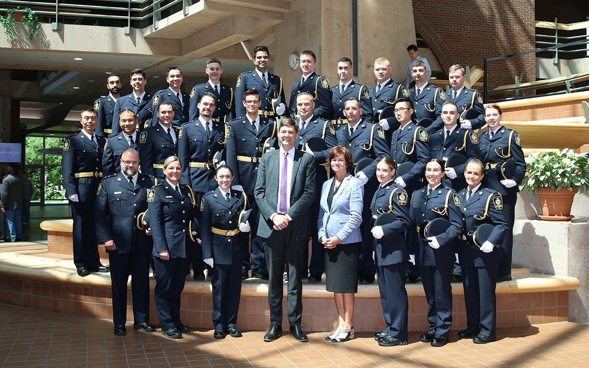 Twenty-four recruits have completed their intensive 14-week training program at the JIBC Sheriff Academy and are ready to serve in B.C.'s courthouses.