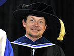 Michael J. Fox honorary degree