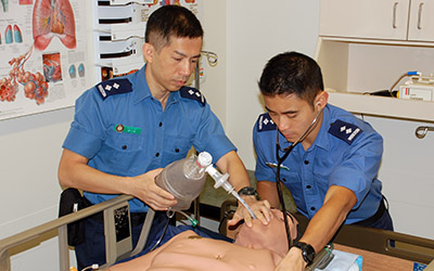 Hong Kong Paramedic Students Training at JIBC