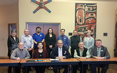 Signing of CICan Indigenous Education Protocol Jan 23 2015