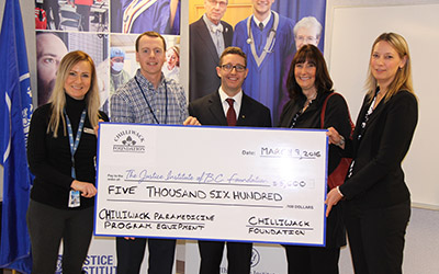 Chilliwack Foundation donation 2016
