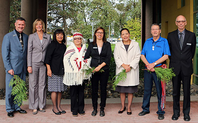 JIBC Aboriginal Gathering Place Blessing (October 2015)