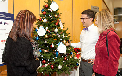 JIBC Help-a-Hero Campaign Tree at the Donor Appreciation Event