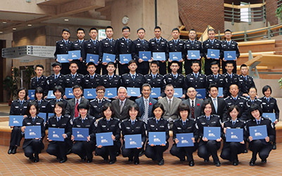 People's Public Security University of China Class 2 (November 2015)