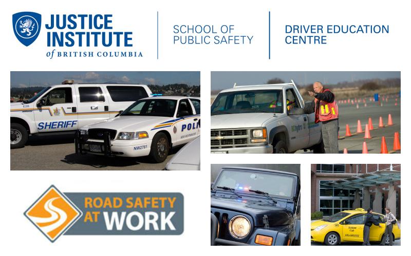 Driver Education Centre Rebrand Collage