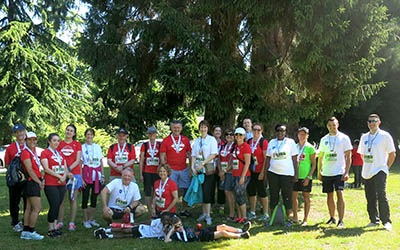 2016 Team JIBC at Scotiabank Half-Marathon & Charity Challenge 2