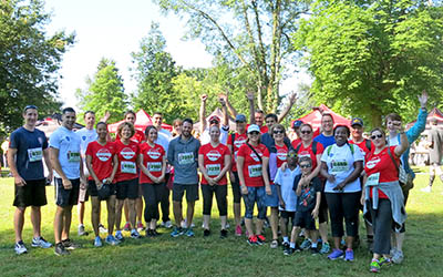 2016 Team JIBC at Scotiabank Half-Marathon & Charity Challenge