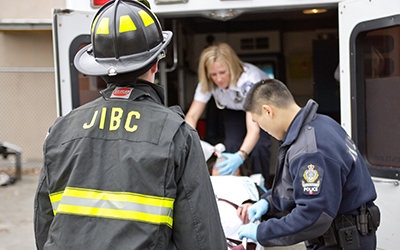 JIBC first responders photo