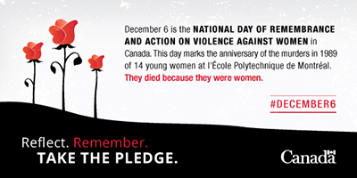 2015 National Day of Remembrance and Action o Violence Against Women