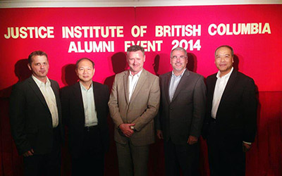 JIBC delegation at Alumni event in Hong Kong (2014)