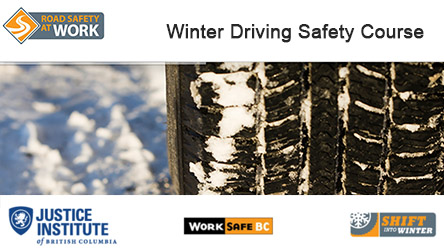 2015 Winter Driving Safety Course Graphic