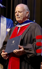 Bob Stewart - 2008 JIBC Honorary Degree Recipient