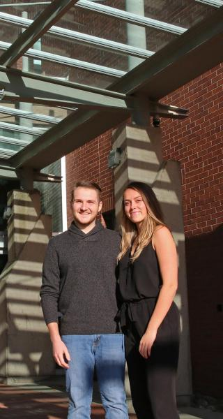 JIBC Bachelor of Law Enforcement Students Dayton DiSalvo and Emma Smith say they gained valuable life experience while on an exchange for a semester at the University of Portsmouth in the UK.