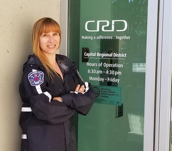 Melodie Hutmacher is now working in her dream job in emergency management after learning of the growing field and completing JIBC's Bachelor of Emergency and Security Management Studies program.