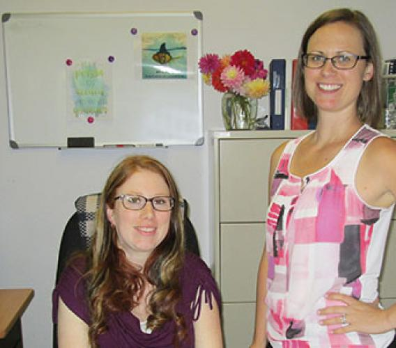Ashley Minifie and Amy Laughren took their work experience in child care and turned it into new careers as Community Care Licensing Officers, thanks to JIBC's CCLO program.
