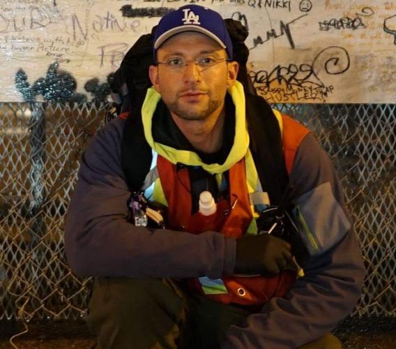 After completing his studies at JIBC's Paramedic Academy, Ryan Vena hopes to work as a paramedic but plans to carry on using his skills in the Downtown Eastside with the outreach society he founded.