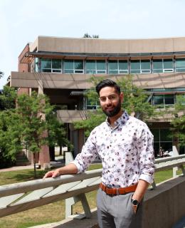 Pavan Dhaliwal's passion for the law translated into completion of a Bachelor of Law Enforcement degree at JIBC and now to law school in the UK.